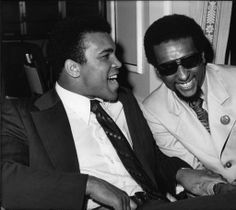 Muhammad Ali and Stokely Carmichael, Los Angeles, 1973.Guy Crowder Collection. Institute for Arts and Media Photographs.