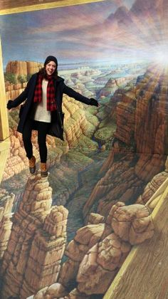 L.L.Bean Boots and 3D grand canyon exploring!