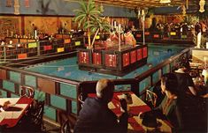 The Tonga Room.  Fairmont Hotel, San Francisco. Fun-I remember a few evenings here.