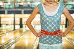 Crochet lace create a delicate fabric for this crochet top. Swank Tank