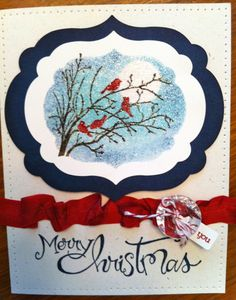 Merry Christmas - Serene Silhouettes
