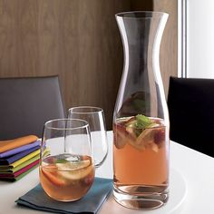 Stemless Wine Glass in Wine Glasses | Crate and Barrel