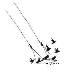 Birds swing//