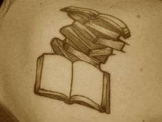 I think my next tattoo will be book related...