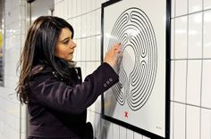 The London Underground's Latest Art Project: A Maze For Every Station   Co.Design   business + designMark Wallinger