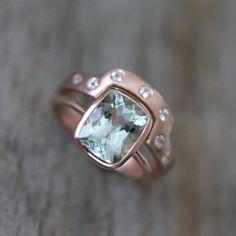 40 best handmade rings ever - #9 (by One Garnet Girl)