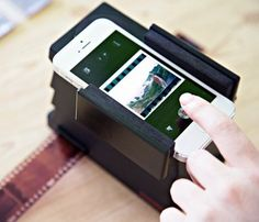 Scan negatives with your smartphone