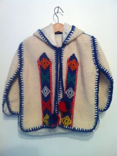 Vintage Aztec Navajo Jacket by TheAppleBobber on Etsy