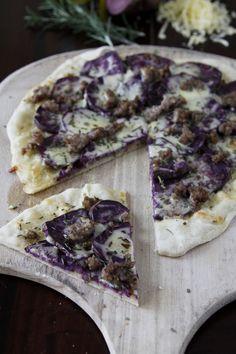 Purple Potato Pizza  #pizza