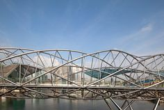 rayner architect, architects, bridg structur, cox rayner, architectur design, bridg singaporedaytim, helix bridg, architecture, bridges