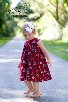 Girls USC Gamecock Dress. My future daughter will have this. TOO CUTE!