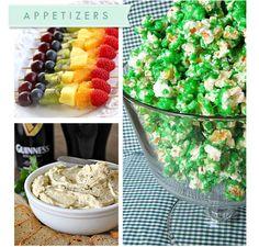 St. Patrick's Day fun snacks