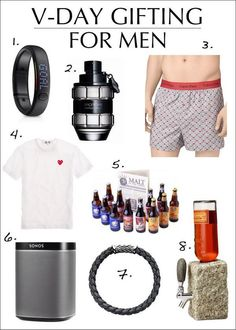 Valentine's Day gift ideas for men from Line Magazine