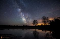 Halley Dust and Milky Way