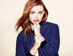 Holland Roden for Byrdie.