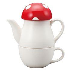 Mushroom Tea For One Set