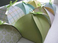 Cookie Packaging Ideas - Petal Boxes
