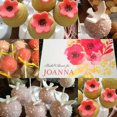jodi shower, cake pops, bridal showers, bridal shower cakes