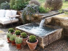 running water in provence...