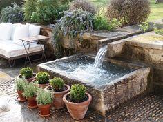 Trough water basin