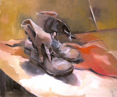 intern art, shoe paint, global vernissag, cowboy boot, sylvi thomasvanlerbergh