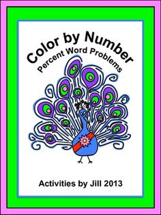 Q: What is the most difficult thing for students to understand about solving word problems involving percents?   A: I always think it is getting them to understand that the percentage and rate must agree.  This color by number includes nine challenging word problems. Students must read carefully to determine how to solve each problem. For example, they may be given the sale price of an item and the percent of discount and be asked to find the original price.   CCSS 7.RP