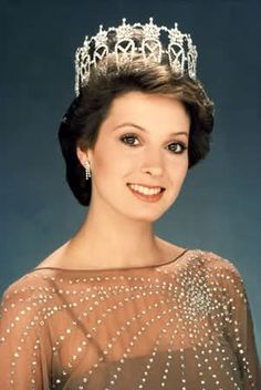 """Terri Utley from Arkansas,  Miss Arkansas USA and Miss USA 1982 the same year as Elizabeth Ward Miss America 1982.  Arkansas has some beautiful women.  The Arkansas Highway signs entering and leaving this great state told the world Arkansas was """"Home of Miss America and Miss USA""""!"""