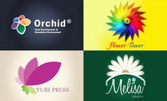 30 Creative Flower themed logo design examples for your inspiration