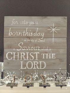 O Holy Night....Our Savior Is Born....