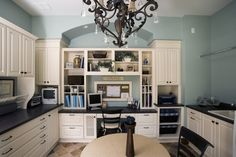 Libertyville Residence - traditional - family room - chicago - Orren Pickell Building Group