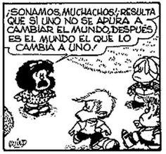 Mafalda. mafaldalb84cdtjpeg 280260, cambiar el, el mundo, quino