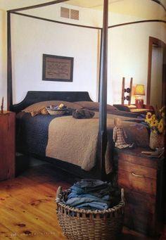 primitive bedroom ***