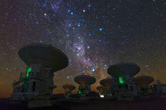 Alma, Atacama Radiotelescopes, ESO,Chile