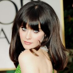 beautiful soft mod look on zooey