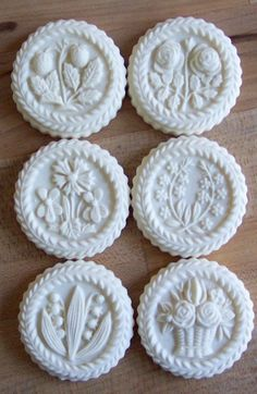 I love these springerle molds.  They are just begging for cookies flavored in lavender and rose instead of the traditional anise.