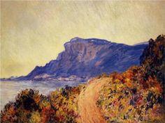 The Red Road at Cap Martin, near Menton - Claude Monet