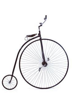 Velocípedo / Modelo Gran Bi. / 1875. / Rideable Bicycle Replicas. / Colección Museo de Historia Mexicana. www.3museos.com @3museos