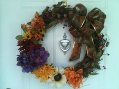DIY FALL WREATH made for less than $20!