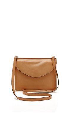 Metal-Framed Leather Shoulder Bag by Carven Now Available on Moda Operandi