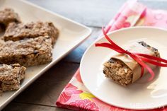 Homemade healthy granola bars recipe (you could use coconut oil in place of the butter)