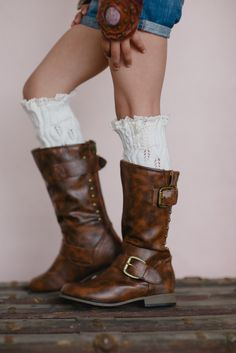 Kids Boho Boots with Lace Leg Warmers LOVE Gypsy Girls Boho Boots from Gypsy Outfitters
