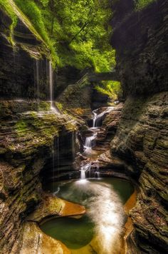 Gorges of Ithaca, New York