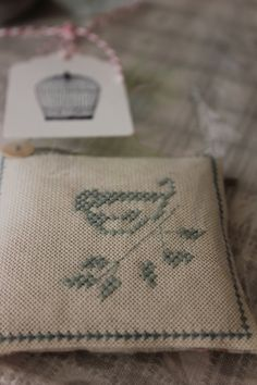 Home Shabby Home - lavender sachet by Letrecivettefattoamano