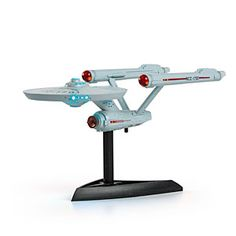 ThinkGeek :: Star Trek Mini Light Up Enterprise