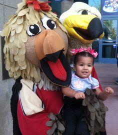 "Annie and ""her birds""!"