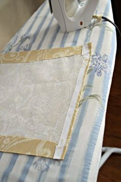 Tutorial for a DIY Table Runner (No Sewing Here!)