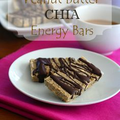 Low Carb Peanut Butter Chia Seed Protein Bars | All Day I Dream About Food