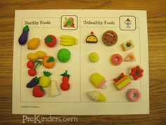 Food Classification Printable