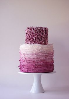 LOVE this cake - different color