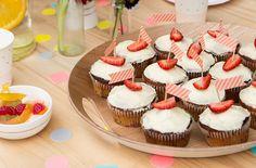 Discover our recipe for delicious Strawberry Cupcakes on the kikki.K blog: www.kikki-k.com/blog